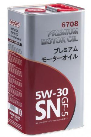Fanfaro for Toyota 5W-30 SN 6708