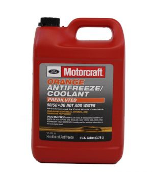 Motorcraft Orange Prediluted Antifreeze (-37C, оранжевый)