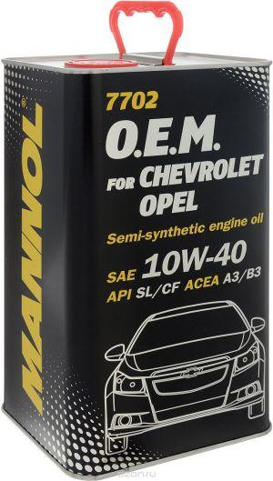 MANNOL 7702 O.E.M. for Chevrolet Opel 10W-40