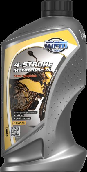 MPM Semi Synthetic Motorcycle Oil 10W-40 4T