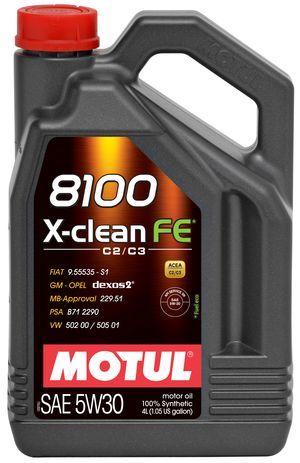 Motul 8100 X-clean FE SAE 5W-30