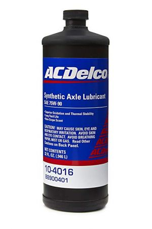 ACDelco Syntetic Axle Lubricant 75W-90