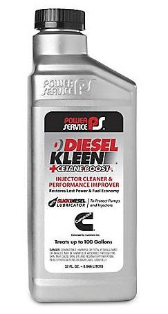 Присадка в дизтопливо (Цетан-корректор) Power Service Diesel Kleen +Cetane Boost Fuel Additive
