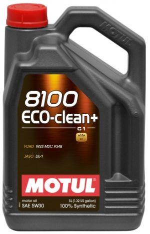 Motul 8100 Eco-clean + SAE 5W-30