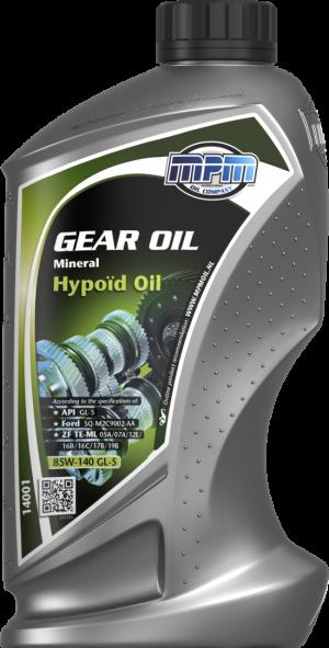 MPM Mineral Hypoid Oil 85W-140 GL-5