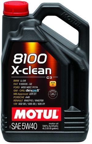 Motul 8100 X-clean SAE 5W-40