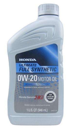 Honda Motor Oil Ultimate 0W-20