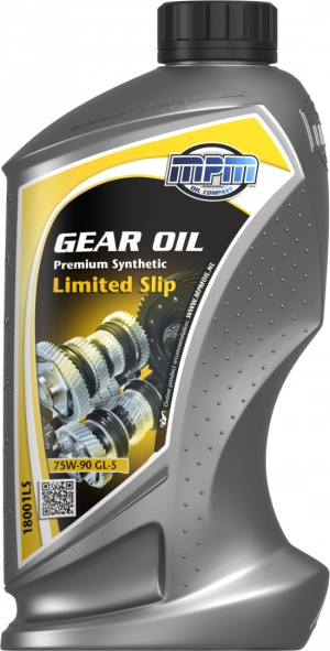 MPM Premium Synthetic Limited Slip Gearbox Oil 75W-90 GL-5