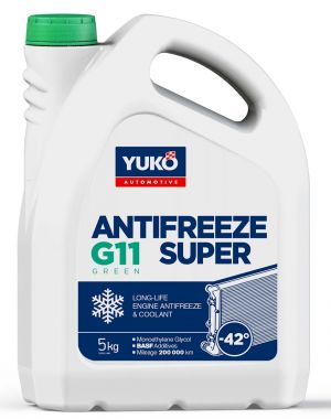 Yuko Antifreeze -40 G11 Green