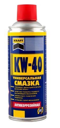Смазка - спрей универсальная Kraft KW-40