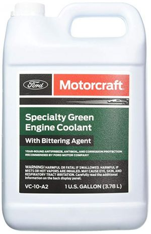 MOTORCRAFT Specialty Green Engine Coolant with Bittering Agent