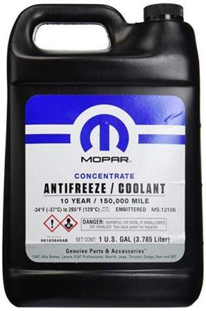 Mopar Concentrate Antifreeze/Coolant 10 Year (-70C, фиолетовый)
