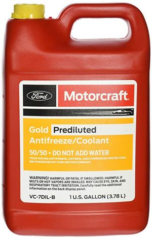MOTORCRAFT Gold Prediluted Antifreeze