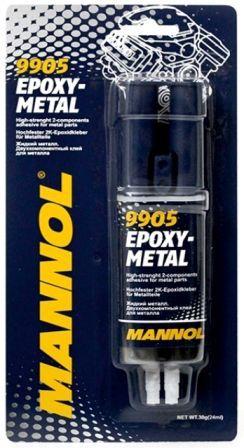 Клей MANNOL 9905 Epoxy-Metall