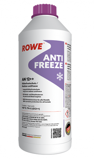 Rowe Hightec Antifreeze AN 12++ (-72C, красный)