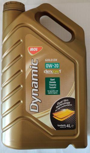 MOL Dynamic Gold DX 0W-20