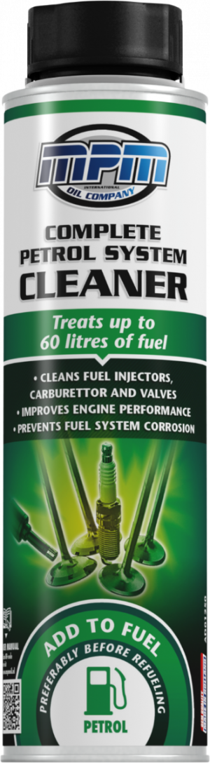 Присадка в бензин (Очиститель топливной системы) MPM Complete Petrol System Treatment