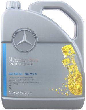 Mercedes PKW Engine Oil 5W-40
