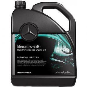 Mercedes High Performance Engine Oil 0W-40