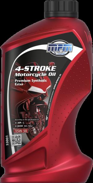 MPM Premium Synthetic Ester Motorcycle Oil 15W-50 4T