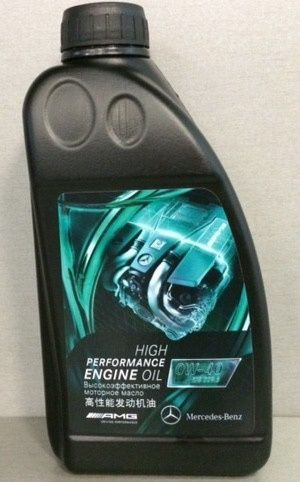 Mercedes High Performance Engine Oil 0W-40