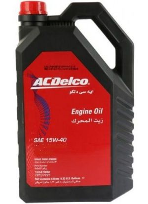 ACDelco HD Diesel Engine Oil 15W-40