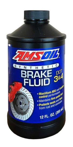 Amsoil Synthetic Brake Fluid DOT 3 & 4