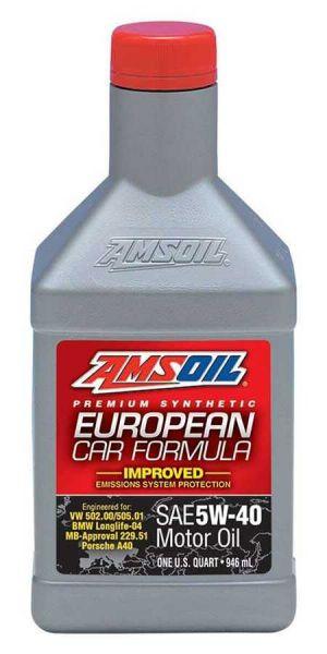 Amsoil European Car Formula Improved ESP 5W-40