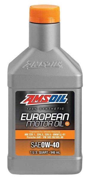 Amsoil European Motor Oil 0W-40