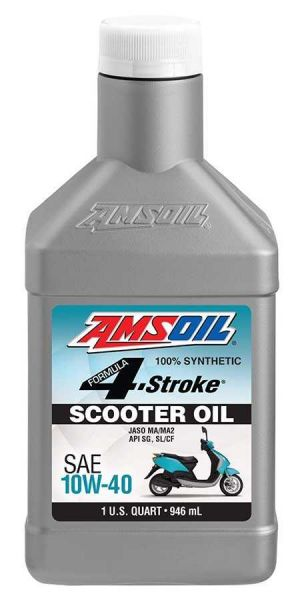 Amsoil Synthetic Scooter Oil 10W-40 4T