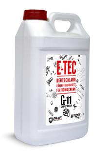 E-TEC Antifreeze G11 Glycsol (-40C, зеленый)