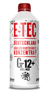 E-TEC GT12+ Glycsol (-70C, красный)