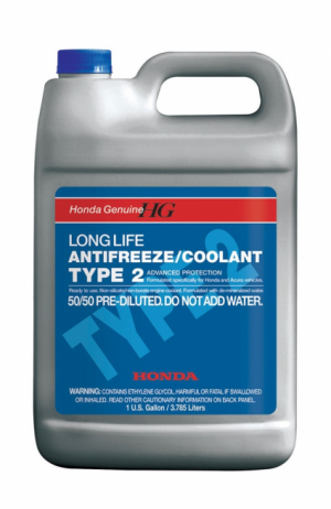 Honda Long life Antifreeze Coolant TYPE 2
