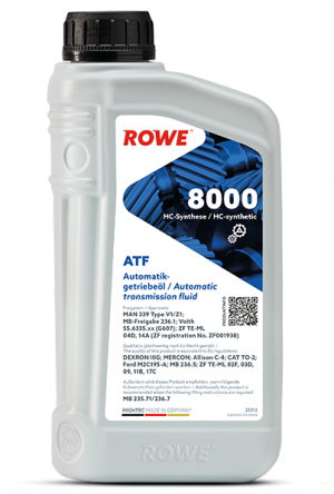 Rowe Hightec ATF 8000