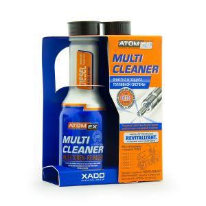 Эффективный очиститель топливной системы Xado Atomex Multi Cleaner (Diesel)