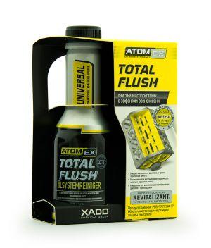 Очиститель масляной системы Xado Atomex Total Flush