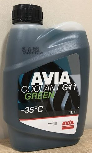 Avia Coolant G11 (-35C, зеленый)