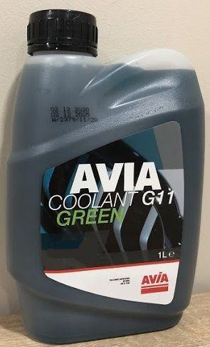 Avia Coolant G11 Concentrate (-70C, зеленый)
