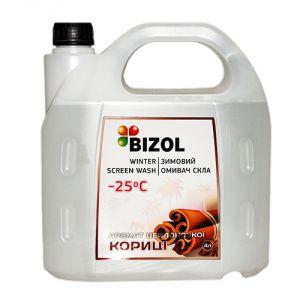 Зимний омыватель, аромат Цейлонской Корицы - BIZOL WINTER SCREEN WASH -25C