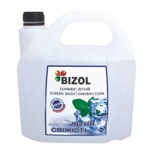 Летний омыватель, аромат Летняя Свежесть - Bizol Summer Screen Wash