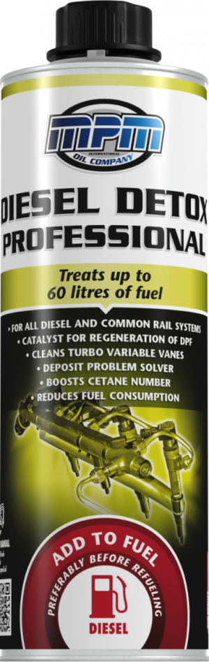 Присадка в дизтопливо (Профилактика, цетан - корректор) MPM Diesel Detox Professional