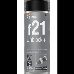 Растворитель ржавчины с молибденом BIZOL Unblock+ f21