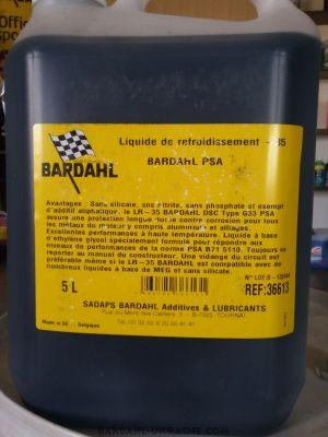 Bardahl PSA Coolant (-35C, синий)