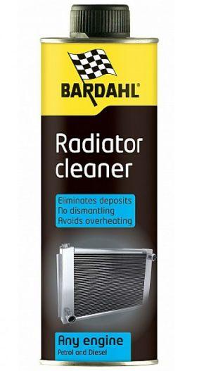 Промывка системы охлаждения Bardahl Cooling System Fast Flush