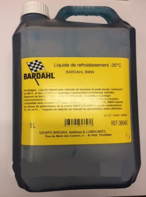 Bardahl -35C Coolant