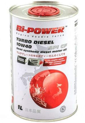 Bi-Power Turbo Diesel 10W-40