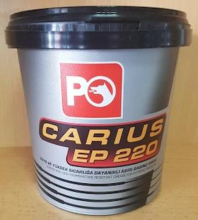 Многоцелевая смазка (литиевый загуститель и молибден) Petrol Ofisi Carius EP 220