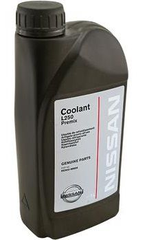 Nissan Coolant L250 Premix (-38С, зеленый)