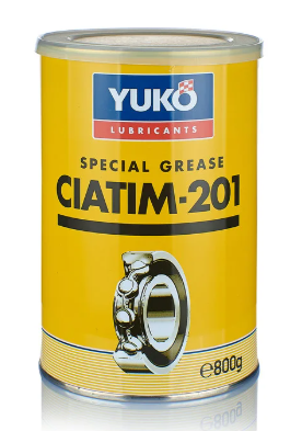 Многоцелевая смазка (литиевый загуститель)  Yuko ЦИАТИМ-201