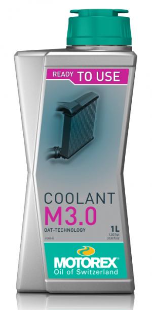 Motorex Coolant M3.0 (-40C, красный)